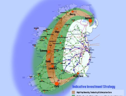 Ireland after Brexit: Atlantic Economic Corridor + Irish Sea Corridor